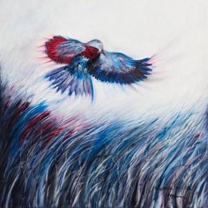 Mariola Świgulska, W niebieskiej krainie, 2019