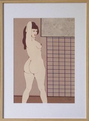 Henryk Płóciennik, Kobieta stojąca, 1997