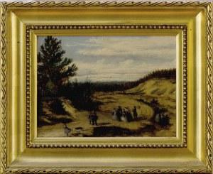 Malarz nieokreślony, XIX w., Pejzaż