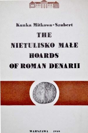 Mitkowa-Szubert K., The Nietulisko Małe hoards of Roman Denarii, Warszawa 1989.
