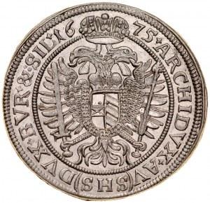 Śląsk, Leopold I 1657-1705, XV krajcarów 1675, Wrocław.