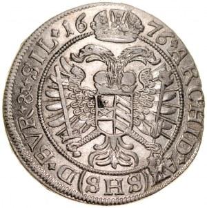 Śląsk, Leopold I 1657-1705, VI krajcarów 1676, Wrocław.