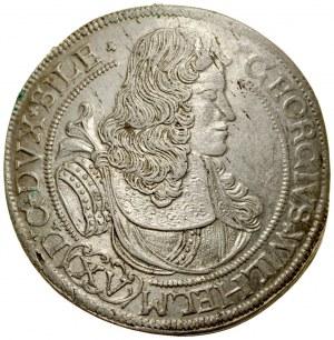 Śląsk, Księstwo Legnicko-Brzesko-Wołowskie, Jerzy Wilhelm 1673-1675, 15 krajcarów 1675, Brzeg.