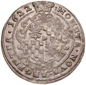 Śląsk, Księstwo Legnicko-Brzesko-Wołowskie, Jerzy Rudolf legnicki 1621-1653, 24 krajcary 1622, Legnica.