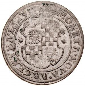 Śląsk, Księstwo Legnicko-Brzesko-Wołowskie, Jerzy Rudolf legnicki 1621-1653, 24 krajcary 1623, Legnica.