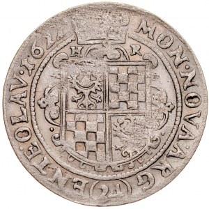 Śląsk, Księstwo Legnicko-Brzesko-Wołowskie, Jan Chrystian Brzeski 1621-1639, 24 krajcary 1622, Oława.