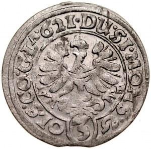 Śląsk, Księstwo Ziębicko-Oleśnickie, Henryk Wacław i Karol Fryderyk 1617-1639, 3 krajcary 1621, Oleśnica.