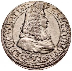 Śląsk, Księstwo Nyskie Biskupów Wrocławskich, Franciszek Ludwik von Pfalz-Neuburg 1683-1732, XV krajcarów 1694, Nysa.