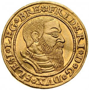 Śląsk, Księstwo Legnicko-Brzesko-Wołowskie, Fryderyk II 1505-1547, Dukat 1544, Legnica.