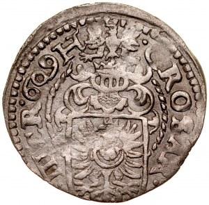 Śląsk, Księstwo Cieszyńskie, Adam Wacław 1579-1617, 3 krajcary 1610, Cieszyn.