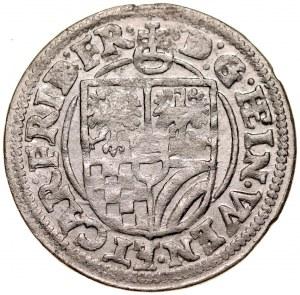 Śląsk, Księstwo Ziębicko-Oleśnickie, Henryk Wacław i Karol Fryderyk 1617-1639, 3 krajcary 1619, Oleśnica.