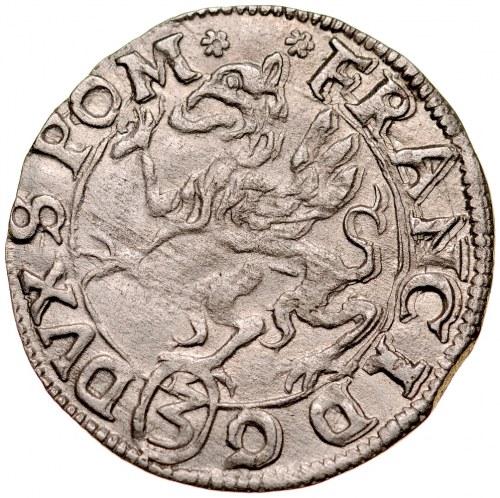 Pomorze, Franciszek 1602-1618, Grosz 1617, Koszalin.