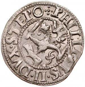 Pomorze, Filip II 1606-1618, Grosz 1613, Szczecin.