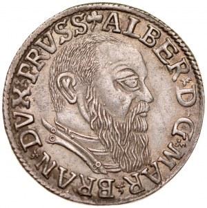Prusy Książęce, Albrecht Hohenzollern 1525-1568, Trojak 1541, Królewiec.