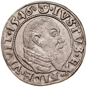 Prusy Książęce, Albrecht Hohenzollern 1525-1568, Grosz 1546, Królewiec.