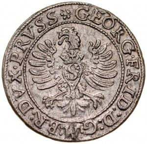 Prusy Książęce, Jerzy Fryderyk 1578-1603, Grosz 1597, Królewiec.