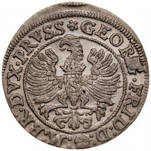 Prusy Książęce, Jerzy Fryderyk 1578-1603, Grosz 1587, Królewiec.