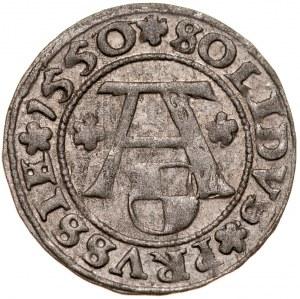 Prusy Książęce, Albrecht Hohenzollern 1525-1568, Szeląg 1550, Królewiec.
