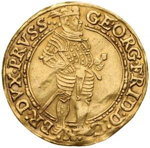 Prusy Książęce, Jerzy Fryderyk 1578-1603, Dukat 1589, Królewiec.