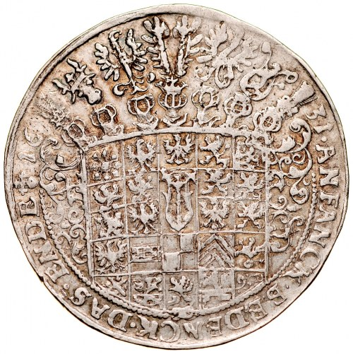 Prusy Książęce, Jerzy Wilhelm 1619-1640, Talar 1631, Królewiec, RR.