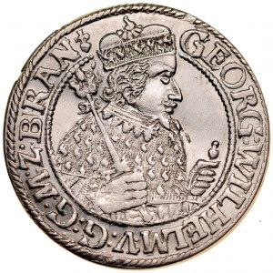 Prusy Książęce, Jerzy Wilhelm 1619-1640, Ort 1622, Królewiec.