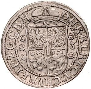 Prusy Książęce, Jerzy Wilhelm 1619-1640, Ort 1623, Królewiec.