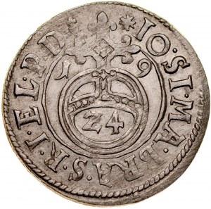 Prusy Książęce, Jan Zygmunt 1608-1620, Półtorak 1619, Królewiec, RR.