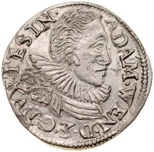 Śląsk, Księstwo Cieszyńskie, Adam Wacław 1579-1617, 3 krajcary 1597, Cieszyn.