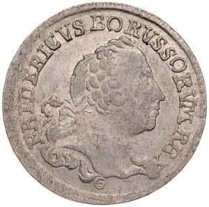 Prusy Książęce, Fryderyk II 1740-1786, 1/6 talara 1763 B, Wrocław.