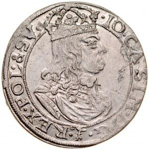 Jan II Kazimierz 1649-1668, Szóstak 1659 TL-B, Kraków.