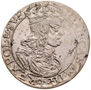 Jan II Kazimierz 1649-1668, Szóstak 1660 TL-B, Kraków.