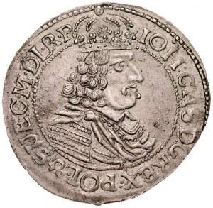 Jan II Kazimierz 1649-1668, Ort 1664 HD-L, Toruń.