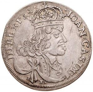 Jan II Kazimierz 1649-1668, Ort 1656 IC, Kraków.