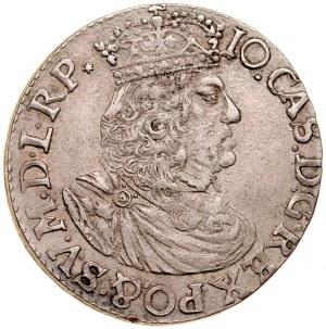 Jan II Kazimierz 1649-1668, Ort 1658 TLB, Kraków.