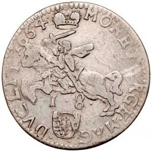 Jan II Kazimierz 1649-1668, Ort 1664 TLB, Wilno.