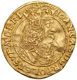 Jan II Kazimierz 1649-1668, Dukat 1661, Toruń.