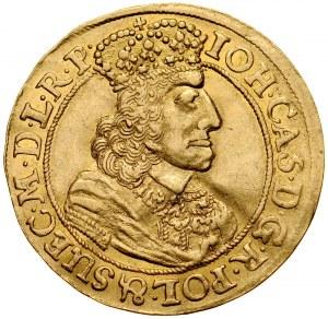 Jan II Kazimierz 1649-1668, Dukat 1658, Gdańsk.
