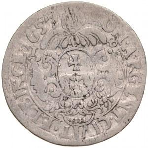 Jan II Kazimierz 1649-1668, Ort 1657 NH, Elbląg.