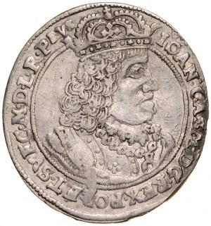 Jan II Kazimierz 1649-1668, Ort 1659 HD-L, Toruń.