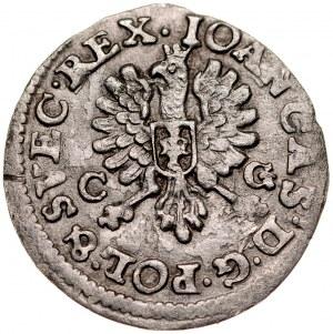 Jan II Kazimierz 1649-1668, Dwugrosz 1651 C-G, Bydgoszcz.