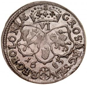 Jan III Sobieski 1674-1696, Szóstak 1683, Bydgoszcz.