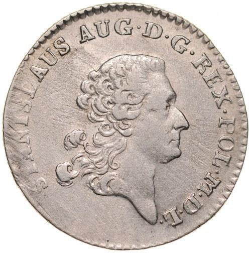 Stanisław August Poniatowski 1764-1795, Złotówka 1766, Warszawa.