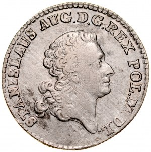 Stanisław August Poniatowski 1764-1795, Złotówka 1767, Warszawa.