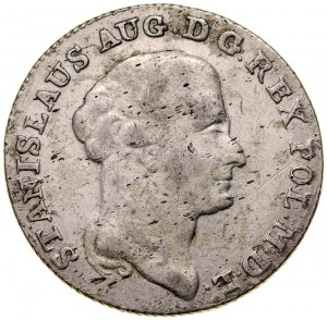 Stanisław August Poniatowski 1764-1795, Dwuzłotówka 1794, Warszawa.