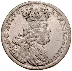 August III 1733-1763, Szóstak 1754, Lipsk.