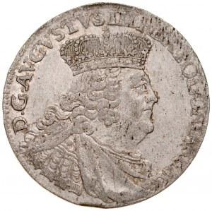 August III 1733-1763, Szóstak 1755, Lipsk.