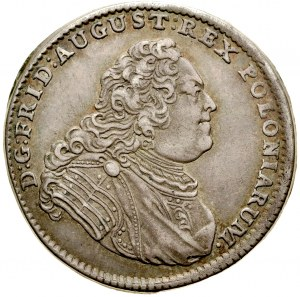 August III 1733-1763, 1/6 talara 1750, Drezno.