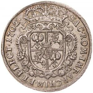 August II Mocny 1697-1733, Talara 1702, Lipsk.