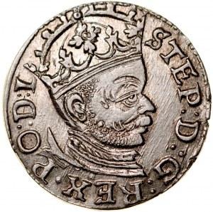 Stefan Batory 1576-1586, Trojak 1583, Ryga.