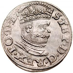 Stefan Batory 1576-1586, Trojak 1586, Ryga.